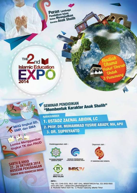 ISLAMIC EDUCATION EXPO 2014 - MHQ NUSANTARA 2 - LOMBA MENGGAMBAR TK